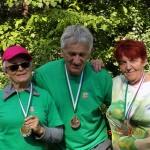 3 medalist.
